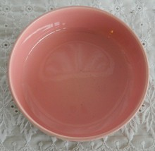 Vintage Authentic Vernonware Metlox Unknown Pink Salad Bowl - $11.99
