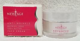 New Age Anti-Wrinkle FACE CREAM Matrixyl-3000 Shea Butter AM/PM 1 oz/30m... - $12.86