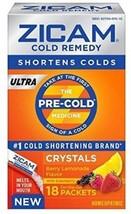 Zicam Cold Remedy Ultra Crystals Berry Lemonade Flavor - 18 CT - $33.08