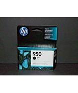HP Hewlett Packard Genuine Original Ink 950 Black 7/2020 New (a) - $14.84
