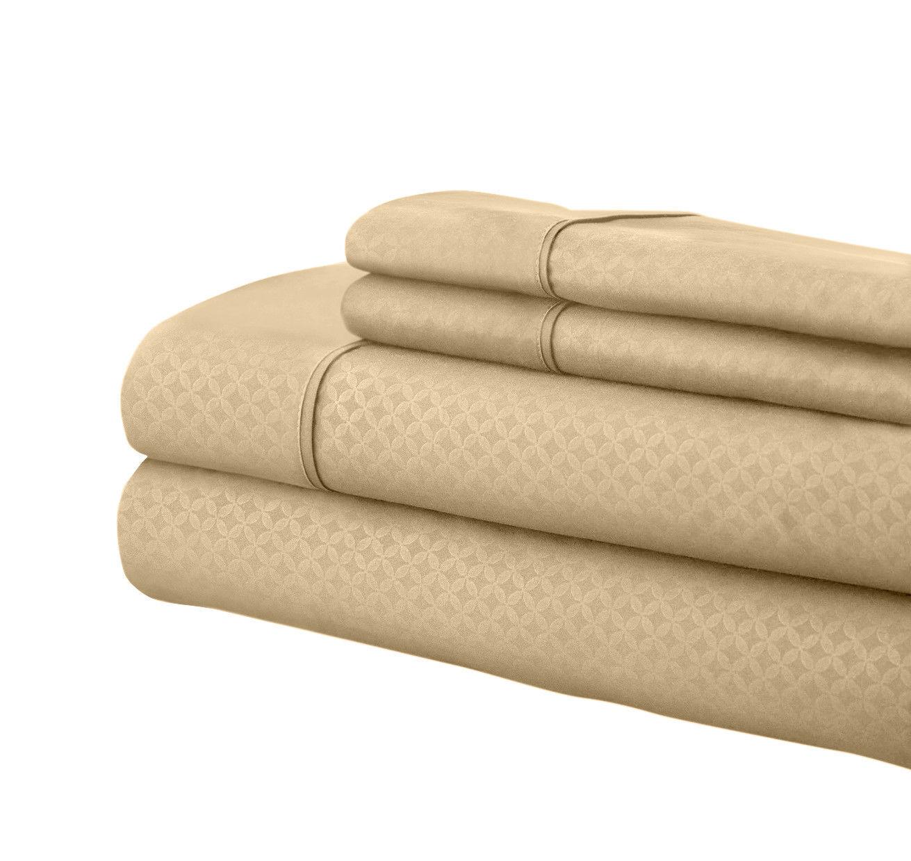 Super Soft Luxurious Martha 1800 Series Deep Pocket Sheet Set