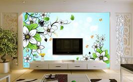 3D Gemalte Blumen 666 Fototapeten Wandbild Fototapete BildTapete FamilieDE - $52.13+