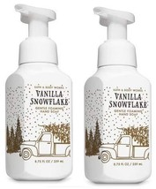 Bath and Body Works 2 Pack Vanilla Snowflakes Gentle Foaming Hand Soap 8... - $56.21