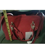 London Fog Red Cross Body Handbag-New with tags - $55.00