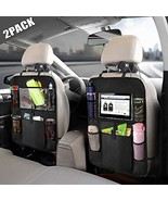 Car Backseat Organizer with Touch Screen Tablet Holder +Storage Pockets ... - $17.55