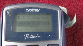 Brother P-Touch Label Maker Thermal Printer Model PT-1010 Tested  - €20,53 EUR