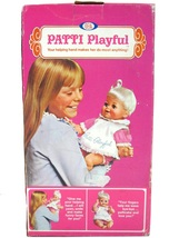 Vintage Ideal Patti Playful Baby Doll Playpal Family w/Box Insert & Inst... - $124.99