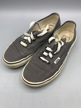 Vans Sneakers Men's US 5 Gray White - $14.84