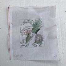 Crossstitch Needlepoint Canvas Floral Design - $2.49