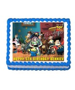 Toy Story Buzz, Woody, Jessie edible cake image party cake decoration to... - $7.80