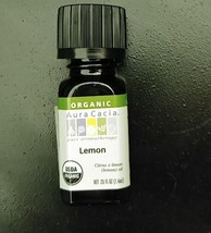 Aura Cacia Organic Lemon Essential Oil 0.25 fl. oz. - $5.93