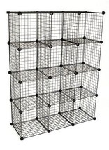 KC Store Fixtures 04120 Mini Grid Clothes Organ... - $88.18
