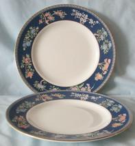Wedgwood Blue Siam Salad Plate Set of 2 - $24.64
