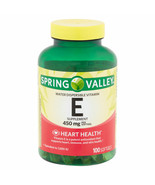 Spring Valley Water-Dispersible Vitamin E Supplement Softgels, 450 Mg, 1... - $34.28