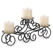 Gifts & Decor Tuscan Candle Holder Wrought Iron Wedding Centerpiece - $22.80