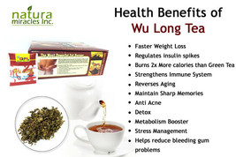 QFL Wulong Premium Chinese Tea: Highly All Natural Tea(100 bags) - $19.79