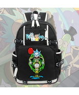 Rick and morty unique series backpack daypack crown thumbtall