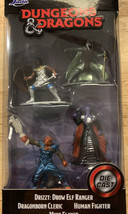 JADA TOYS DUNGEONS & DRAGONS DIE CAST FIGURINES DRIZZT MIND FLAYER AND M... - $7.76