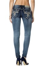 Rock Revival Women's Jeans Classic Skinny Cut Jean Denim Xia S202 image 2