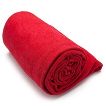Yoga Towels, Skidless Microfiber Yoga Towel Non Slip, With Carry Bag (red) - $505,17 MXN