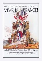 Vive la France! by James M. Flagg - Art Print - $19.99+
