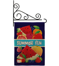 Summer Fun Burlap - Impressions Decorative Metal Fansy Wall Bracket Gard... - $33.97