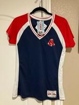 Boston Red Sox Jersey Womens L Runs Small Majestic Mlb Free Ship New - $37.80