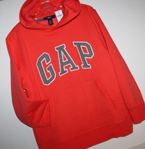 Gap Kids NWT Boy's S M L XL 6 7 8 10 12 Blaze Orange Sweatshirt Pullover Hoodie - $25.07