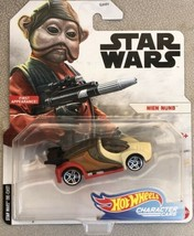 Hot Wheels Star Wars Character Cars NIEM NUMB First Appearance - Sealed - $8.99