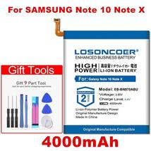 Losoncoer 4000mAh EB-BN970ABU Battery For Samsung Galaxy Note 10 Note X Note10 N - $21.70