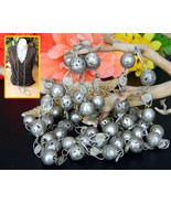 Vintage Mexican Wedding Necklace Silver Balls F... - $74.95