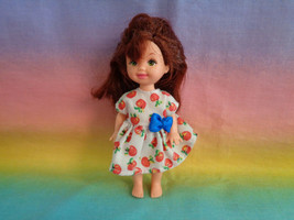 Kelly Barbie Little Sister Auburn Hair Green Eyes & Freckles / Apple Pri... - $6.88
