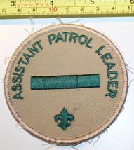 Assistant Patrol Leader Boy Scouts Patch Badge - $7.43