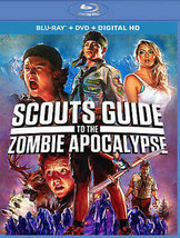 Scouts Guide to the Zombie Apocalypse (Blu-ray/DVD, 2016, 2-Disc Set) br... - $9.89