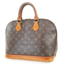 正宗LOUIS VUITTON Alma Monogram手袋钱包#38282-$ 375.00