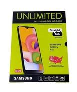 BRAND NEW, Straight Talk Samsung Galaxy A01, 16GB Prepaid Smartphone, SE... - $83.97
