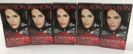 5 Revlon Colorsilk Color Permanent Hair Dye #20 Brown Black  - $27.72