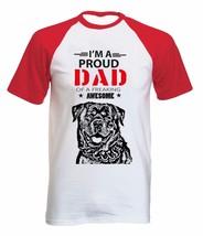 Rottweiler - Im A Proud Dad - New Cotton Baseball Tshirt All Sizes - $27.17