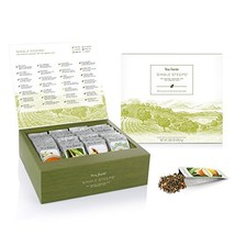 Tea Forté SINGLE STEEPS Loose Tea Sampler, Assorted Variety TEA CHEST Gi... - $31.98