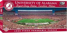 MasterPieces Alabama Crimson Tide 1000pc Panoramic NCAA Jigsaw Puzzle - $27.96