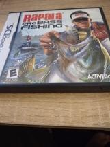 Nintendo DS Rapala Pro Bass Fishing image 1