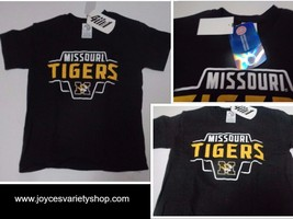 Missouri Tigers T-Shirt Kid's NWT Licensed Collegiate All Sizes University - $7.99
