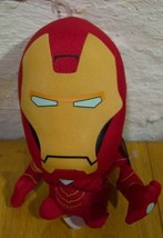 "Marvel Ironman Big Headed Character 7"" Plush Stuffed Animal Toy The Avengers New - $18.32"