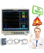 ICU Patient Monitor ECG NIBP SPO2 RESP TEMP PR HR Vital Signs Monitor 15... - $1,088.01