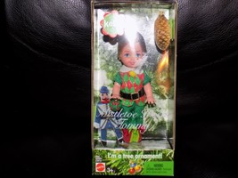 Barbie Mattel Mistletoe Christmas HTF TOMMY Doll KELLY Club Ornament - $32.00