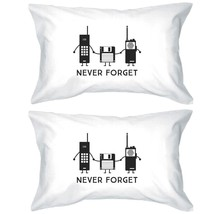 Never Forget White Pillowcases - $30.99