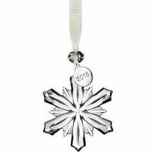 "NEW Waterford Lighting Up The Season 2018 Mini Snowflake Ornament 2.5"" 40031773"