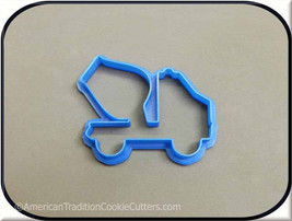 "3.75"" Cement Mixer Truck 3D Printed Cookie Cutter - $3.00"