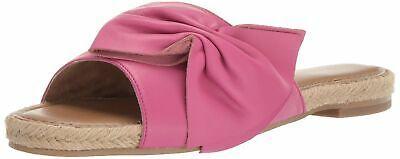 Aerosoles Women's Buttercup Slide Sandal Pink Leather 7 M US