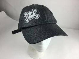 Disney Nightmare Before Christmas Jack SKELLINGTON Baseball Cap Hat Glitter - $14.72